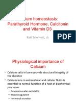 Fisiologi Calcium Homeostasis