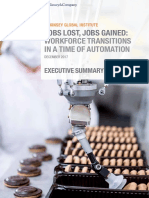 Jobs Lost, Jobs Gained Workforce Transitions in a Time of Automation