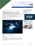 Lesiones quirúrgicas de la vía biliar - Artículos - IntraMed