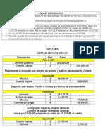 Lista de Transacciones y Libro Diario