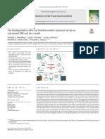 El Efecto Biodegradante de Las Larvas de Tenebrio Molitor Linnaeus Sobre SBR Vulcanizado y Miga de Neumático