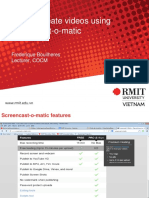 How to Create Customised Videos Using Screencast-o-matic