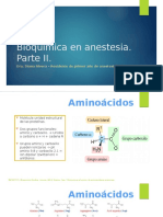 Bioquímica en Anestesia-Parte II