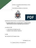 Analisis Ley de Marcas