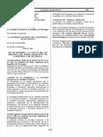 00997 Reforma Ley No. 606