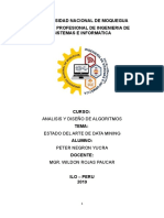 MINERÍA DE DATOS - ESTADO DEL ARTE