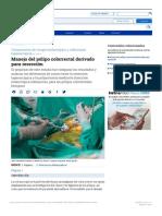 Manejo del pólipo colorrectal derivado para resección - Artículos - IntraMed