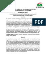 Ecosistemas Terrestres. Ecología