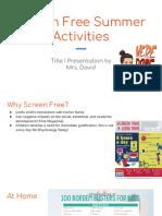 screen free summer activities  1