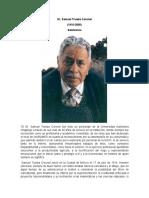 Premio Dr Samuel Trueba Coronel