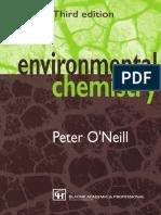 Enviromental Chemistry Peter O'Neill