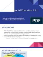 mtss   special education  new staff