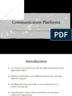 communication platforms