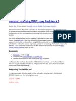 Cracking WEP Using Backtrack