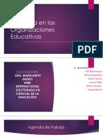 las tecnologías en las organizaciones educativas