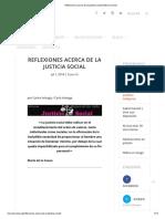 Reflexiones Acerca de La Justicia Social _ México Social