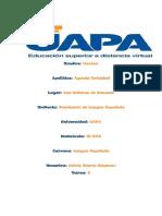 Yari,Tarea 6 de Seminario de Lengua Española