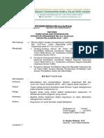 SK Penetapan Struktur ORGANISASI MTs NFCS Tahun 2017 2018