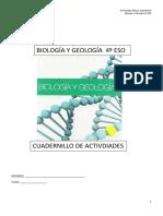 Biología y Geología Actividades 4 ESO