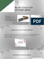 Teoría de Colas Con Software Arena