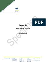 Report Sample 2