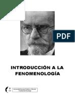 INTRODUCCIÓN A LA FENOMENOLOGÍA- Universidad Nacional Federico Villarreal.pdf