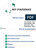 Presentation Activités Ciales BNP