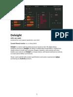 Audiority Deleight Manual