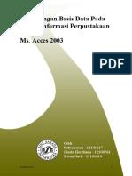 Perancangan Basis Data Pada Sistem Informasi Perpustakaan
