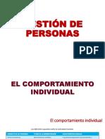 Gestión de Personas_Comportamiento Individual