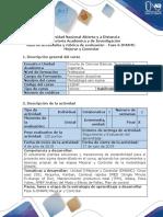 Guía de Actividades y Rúbrica de Evaluación -Fase 6-DMAMC-Mejorar y Controlar