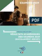 Les résultats de l'académie de Corse