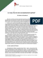 Souzenelle Corps PDF