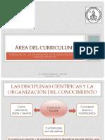 Las Disciplinas Científicas y La Organización Del Conocimiento