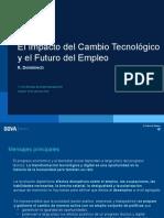El Impacto Del Cambio Tecnológico y El Futuro Del Empleo