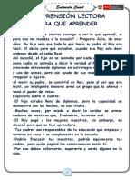 ECE COMUNICACIÓN - 4° GRADO