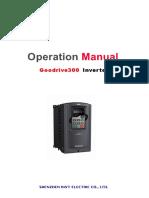 Goodrive300 Inverter Operation Manual_V3.3