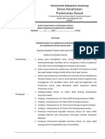 Sk Pembentukan Tim Pkm Dasuk