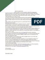 Jetairways GD Letter