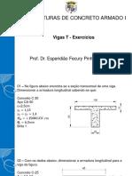 10.4.2 - Vigas T - Exercícios