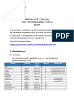 Manual Integracion Ws Fe v2 Ecom