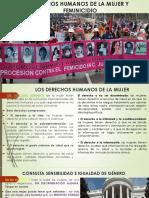 Feminicidio y Los Derechos Humanos de La Mujer - Copia