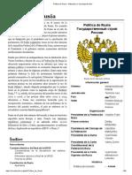 Política de Rusia - Wikipedia, la enciclopedia libre.pdf