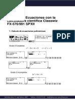 Tutorial Calculadora Casio Ecuaciones (1)