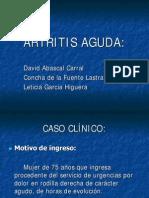 ARTRITIS AGUDA