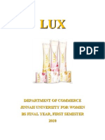 Introduction to Lux | Unilever | Business