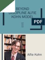 Alfie Kohn's Beyond Discipline Model