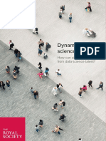 Dynamics of Data Science