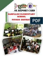 Sampaloc Es 109012 Pitogo District School Report Card