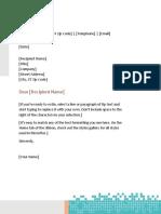 Kreasi surat menggunakan MS-Word